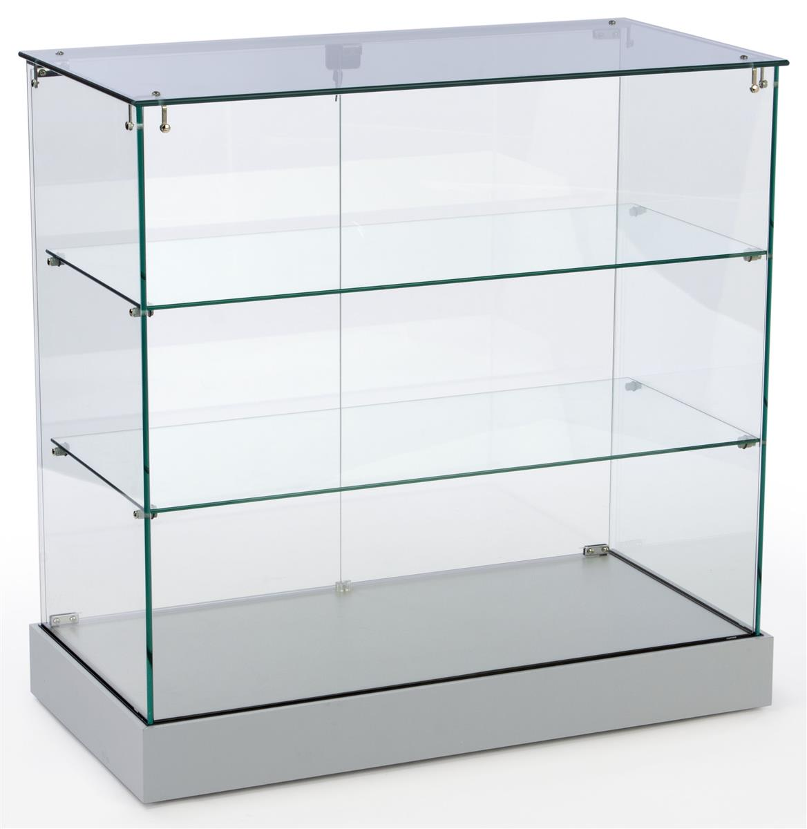 #235A4F Showcase Counter Locking Silver Cabinet Ships Unassembled with 1168x1200 px of Best Glass Display Cabinet Puchong 12001168 image @ avoidforclosure.info