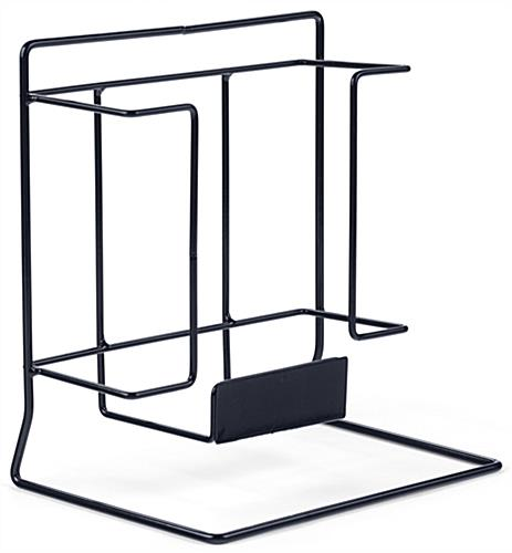 Single Wire Magazine Rack with Powder Coat Finish