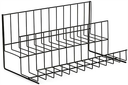2 Tier Wire Countertop Rack Open Space Shelving