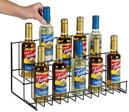 2 Tier Wire Countertop Rack, Steel Wire