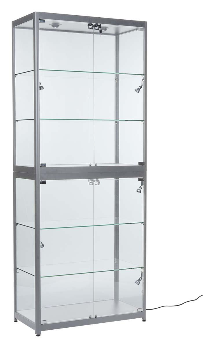Trade Show Display Case Exhibit Booth Cabinet With