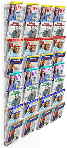 wall mount magazine organizer wall mount magazine organizer