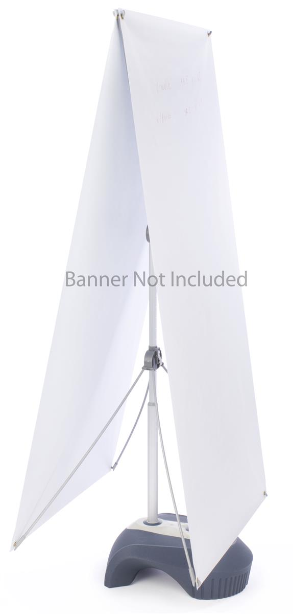 Outdoor Banner Stand Water Base Weighted Display