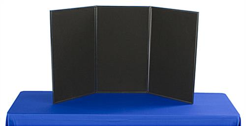 Exhibition Display Boards : Exhibition display boards grey fabric double sided