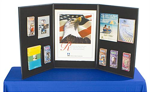 Exhibition Displays Bristol : Panel display board foldable two colored sides to give