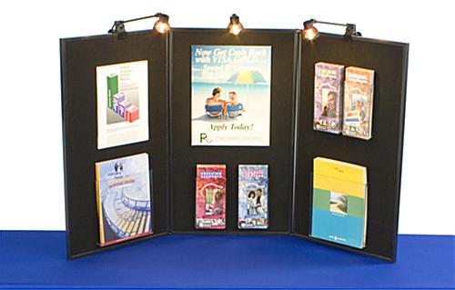 Exhibition Display Boards : Exhibition display board write on dry erase side