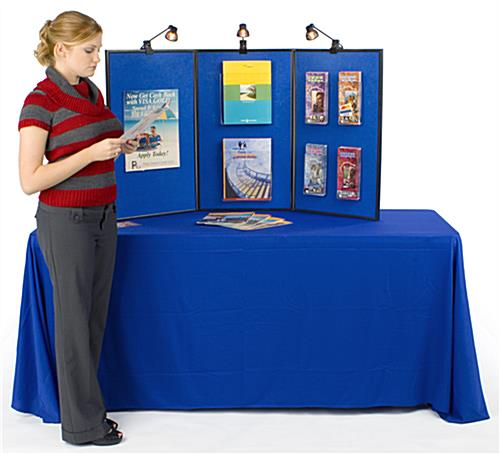 Folding Panel Displays: Include Write-On White Board