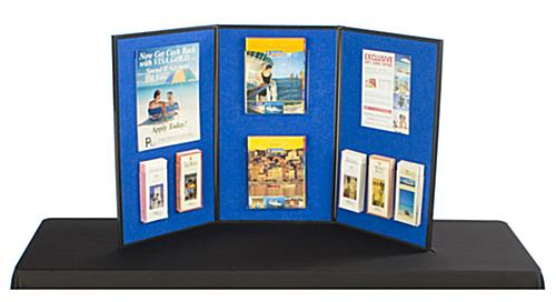 3 Panel Display Great Tabletop Board For Trade Show Event