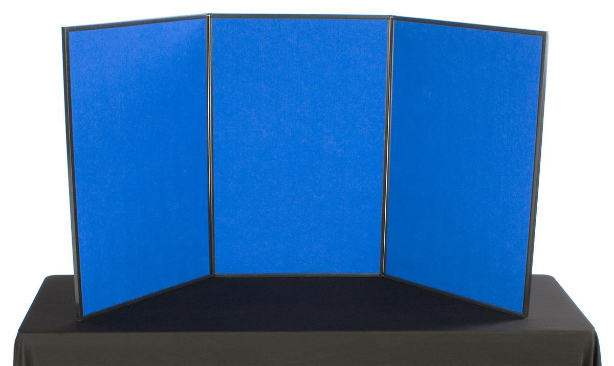 3 Panel Tabletop Exhibits Hook Amp Loop Receptive Fabric