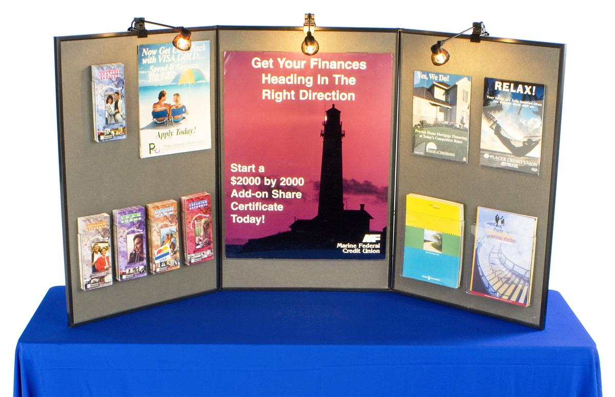 Table Display Boards Presentation Tools For Trade Shows