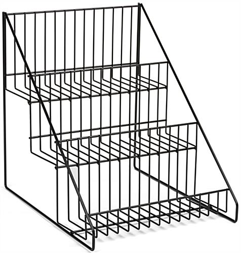 "3 Tier Wire Countertop Rack for 12"" Items"
