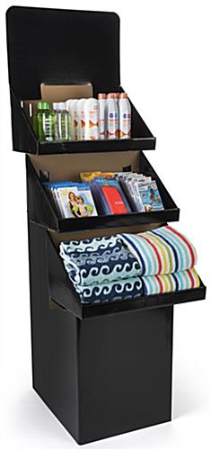 Bin Display: Features 3 Tiers For Product Display