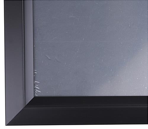 30 Quot X 40 Quot Black Poster Frame Rear Loading Black 1 5 Quot Profile