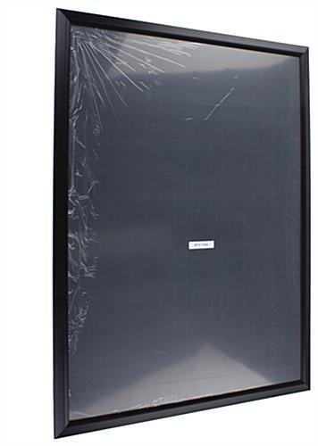 30u0026quot; x 40u0026quot; Black Poster Frame : Rear Loading Black 1.5u0026quot; Profile