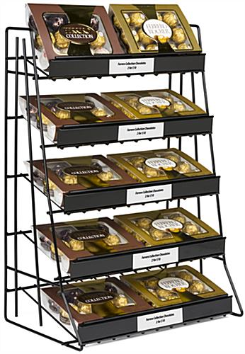5 Tier Wire Countertop Rack