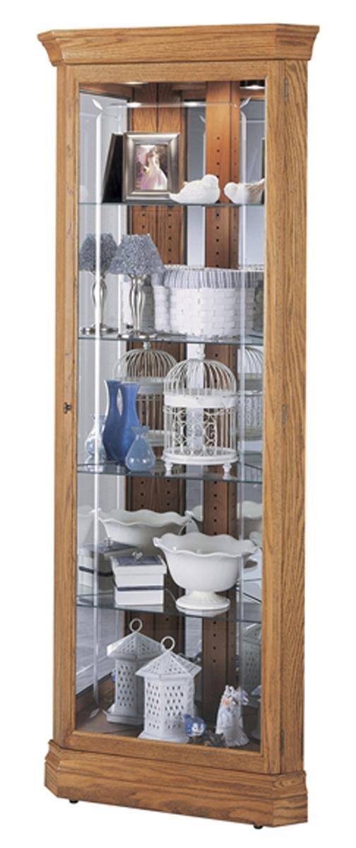 Oak Corner Curio Cabinet Residential Amp Retail Furniture