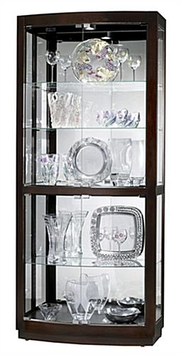 Black Coffee Display Cabinet