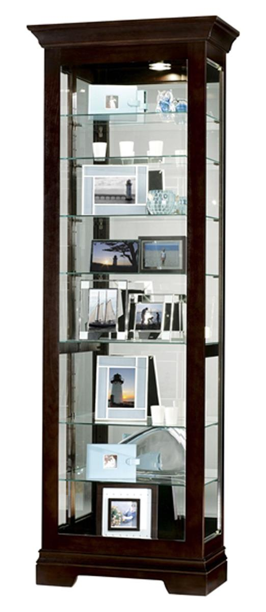 Glass Display Cabinet Salomon Model With Black Coffee Finish