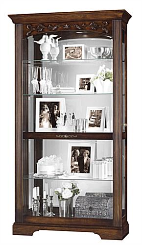 cherry collectible cabinet