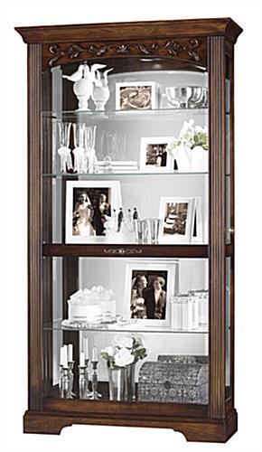 Collectible Cabinet   Hartland Model - Hampton Cherry Finish