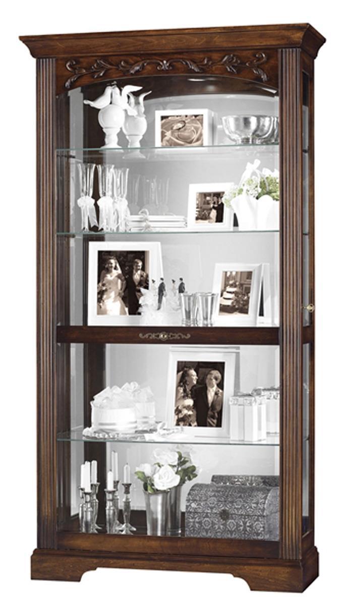 Collectible Cabinet Hartland Model Hampton Cherry Finish