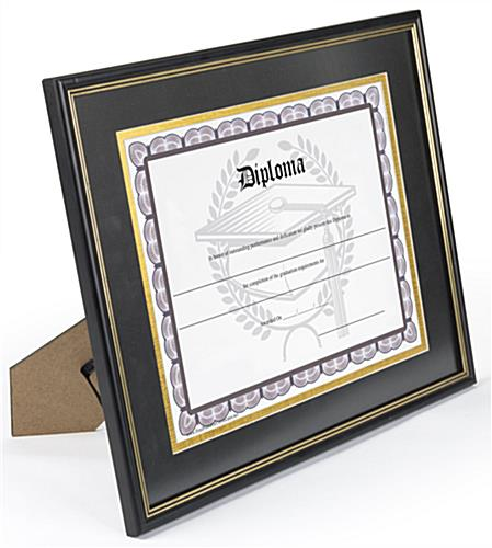 Double Matted Diploma Frame for Diplomas