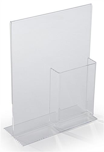 Clear Acrylic Sign Display