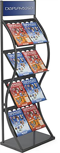Trade Show Pop Up Magazine Rack