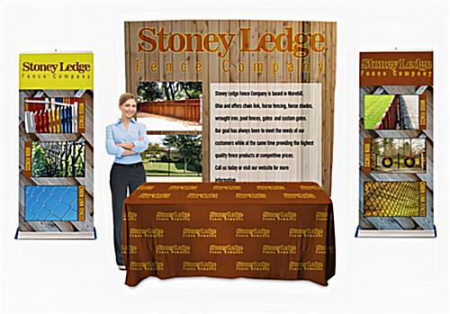 Trade show display package for 10' booth