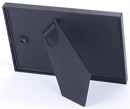 4x6 Aluminum Black Photograph Holder