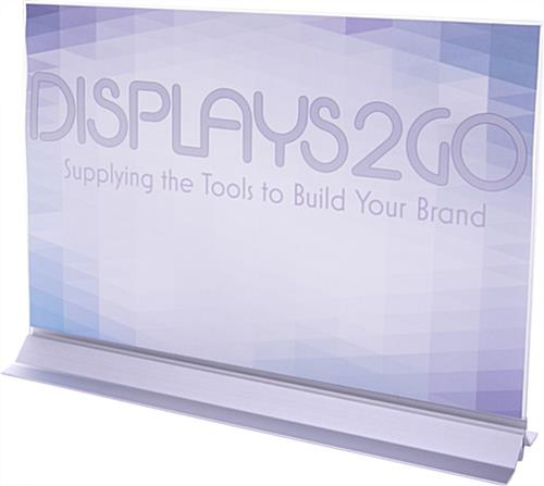 Vertical Sign Holder for Advertisements