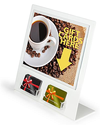 "Gift Card Display For 3-1/2"" x 2"" Cards"