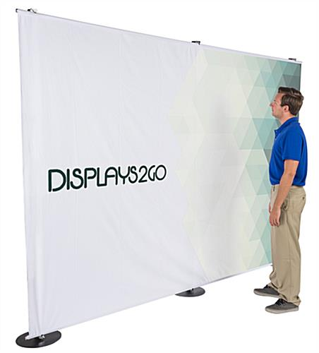 10' x 7' Customized Photo Backdrop Banner Stand