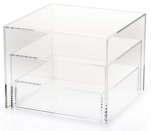 Clear Acrylic Cube Nesting Set of 3