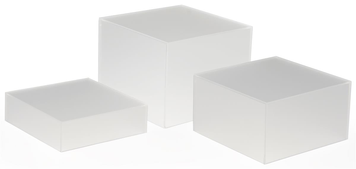 Cube Riser Set Set Of 3 Nested Displays