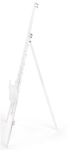 Adjustable acrylic artist easel with elegant slim construction