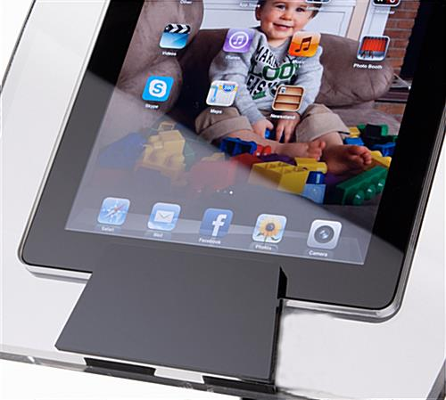 Black Base Height Adjustable iPad Air Stand