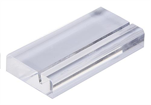 Acrylic Square Business Card Holder