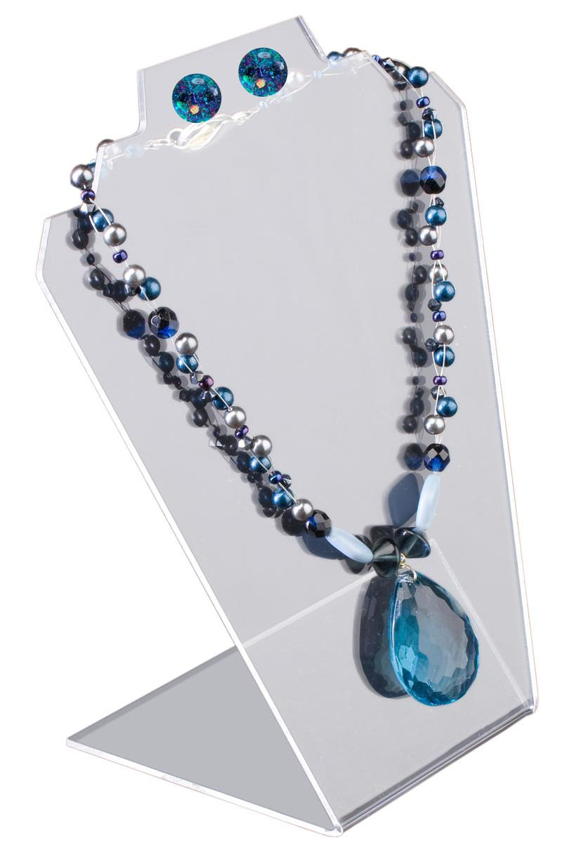 Clear Necklace Holder Countertop Display