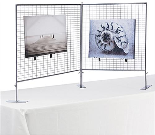 Metal Counter Art Display Grid