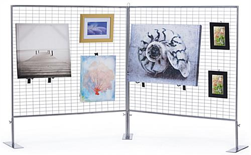 Double-Sided Counter Art Display Grid