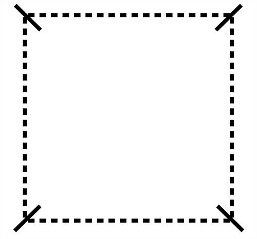 Cube-Shaped Square Art Display Grid