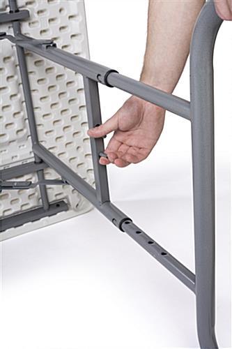... Adjustable Height Folding Table ...