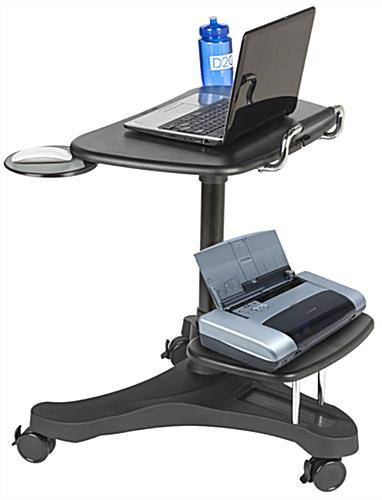 "Mobile Laptop Workstation with 3"" Casters"