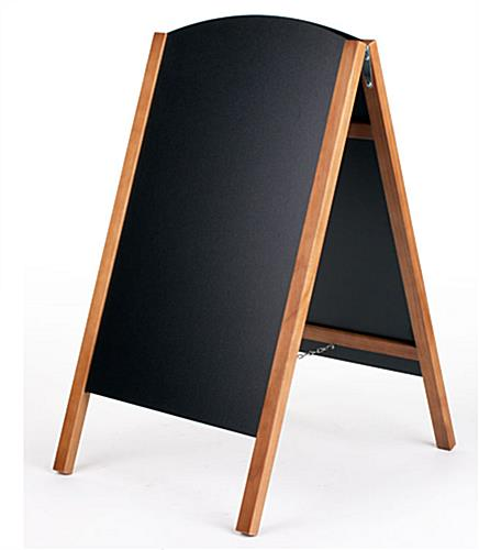 double sided chalkboard easels - for stick & liquid chalk