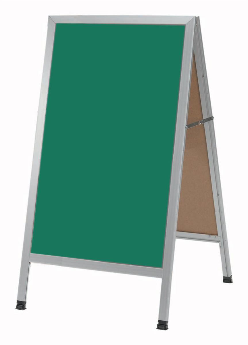 sandwich boards with write on surface double sided a frames. Black Bedroom Furniture Sets. Home Design Ideas