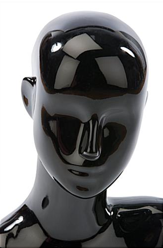 Black Female Mannequin Bust