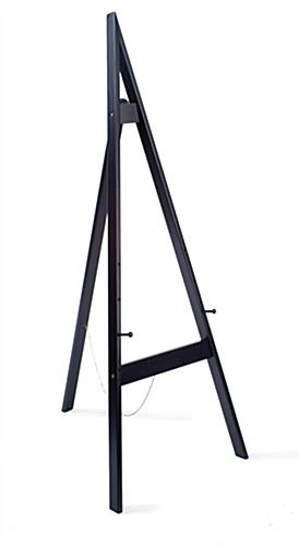 Easel Stand 60 Quot H In A Black Finish To Easily Match Any