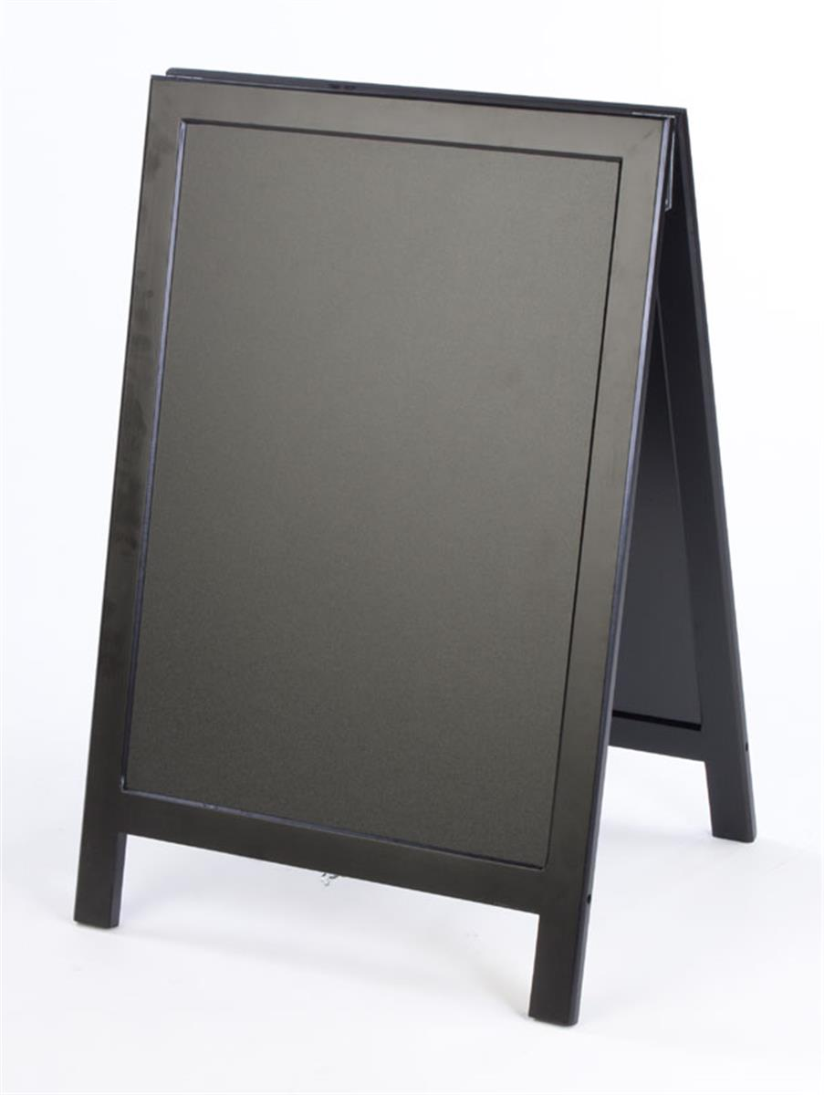 Chalkboard Signs Black Wooden Frame Double Sided