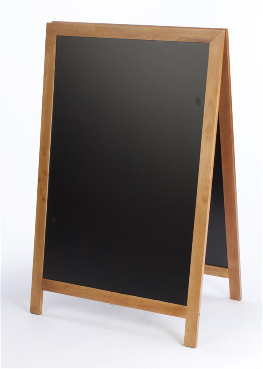 A-Frame Black Board | Stick Chalk or Liquid Marker Compatible